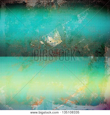 Colorful grunge background, tinted vintage style texture. With different color patterns: yellow (beige); green; blue; gray; cyan; pink