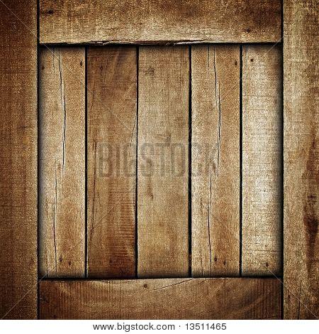 wooden box background