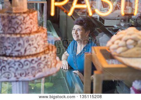Bakery shop owner