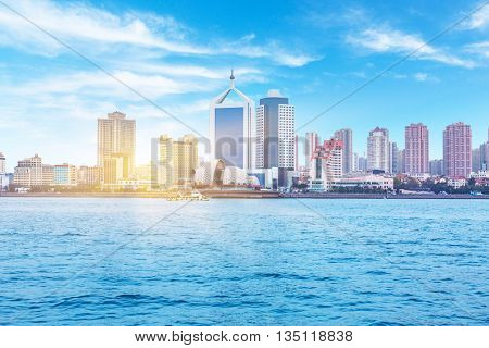 seaside city, qingdao