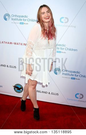 LOS ANGELES - JUN 18: Kathryn Gallagher at the Stand For Kids Gala at the Twentieth Century Fox Studios Lot on  ,  June 18, 2016 in Century City, CA