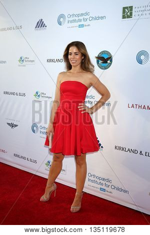 LOS ANGELES - JUN 18: Ana Ortiz at the Stand For Kids Gala at the Twentieth Century Fox Studios Lot on  ,  June 18, 2016 in Century City, CA
