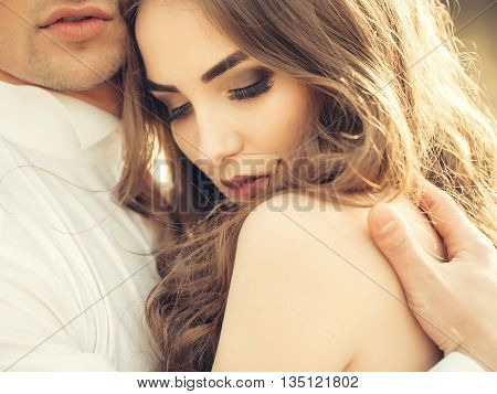 Sensual Wedding Couple
