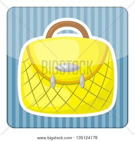 Woman Handbag Colorful Icon