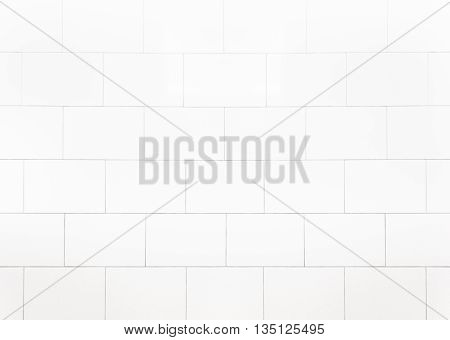 White Tiles marble wall background/White Tile wall