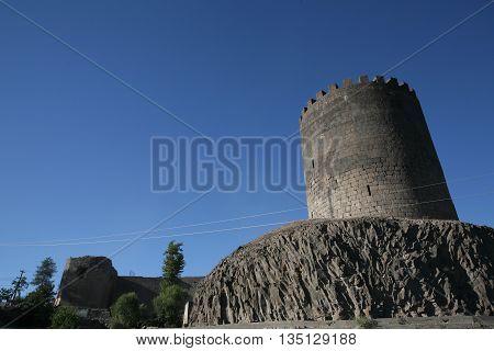 Diyarbakir Castle in Southern Anatolia, Kurdistan, Turkey