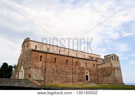 abbey of San Giovanni in Venere in Fossacesia (Italy)