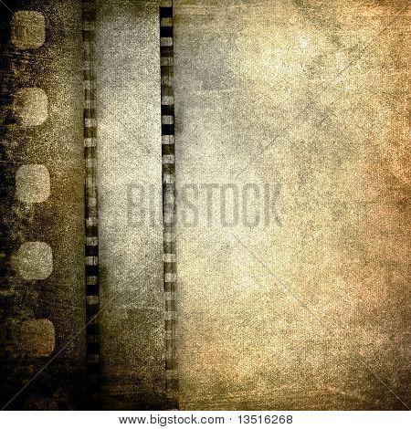 grunge film background