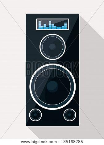 Music technology equipment graphic design, vector illustration eps10