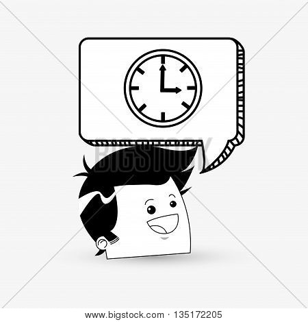 Business concept with icon design, vector illustration 10 eps graphic.