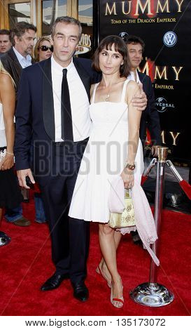 John Hannah at the Los Angeles premiere of 'The Mummy: Tomb Of The Dragon Emperor' held at the Gibson Amphitheatre in Hollywood, USA on July 27, 2008.