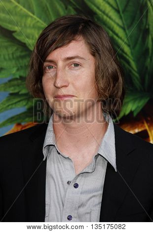 Director David Gordon Green at the World premiere of 'Pineapple Express' held at the Mann Village Theater in Westwood, USA on July 31, 2008.