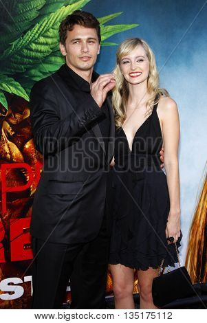 James Franco and Ahna O'Reilly at the World premiere of 'Pineapple Express' held at the Mann Village Theater in Westwood, USA on July 31, 2008.