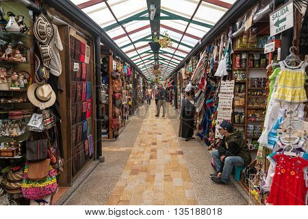 Souvenir Market In Colombia