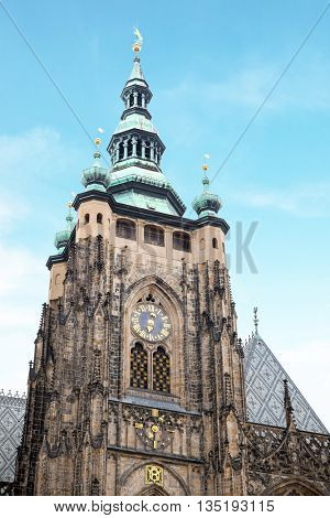 St. Vitus gothic cathedral