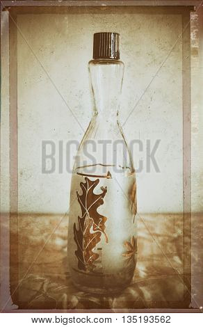 a vintage bottle from the prohibition era