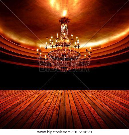 elegante salão de festas