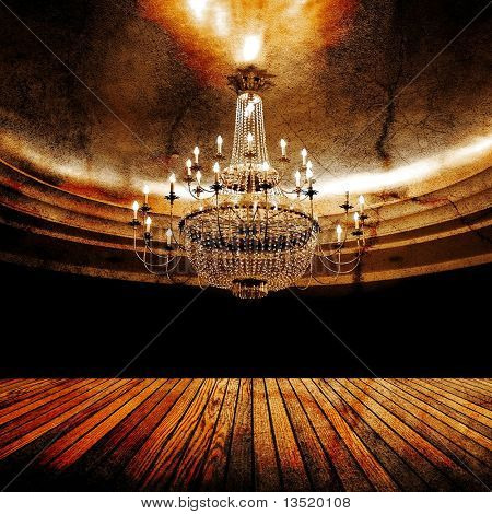 grunge ballroom