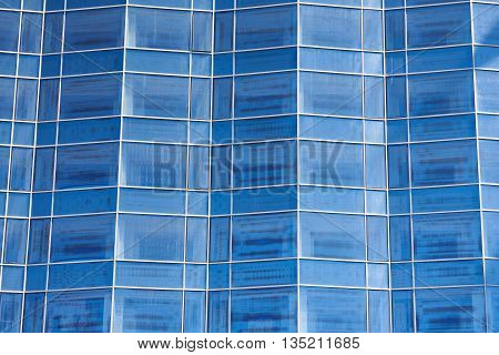 The abstract background of modern architectural structures