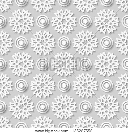 Seamless arabic geometric Seamless white geometric pattern east ornament indian pattern persian motif 3D vector. Endless texture can be used for wallpaper pattern fills web page background.
