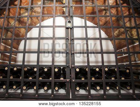 Wine Cellar Brick Vault