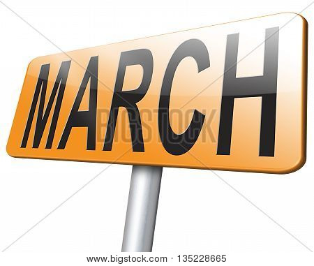 Month March