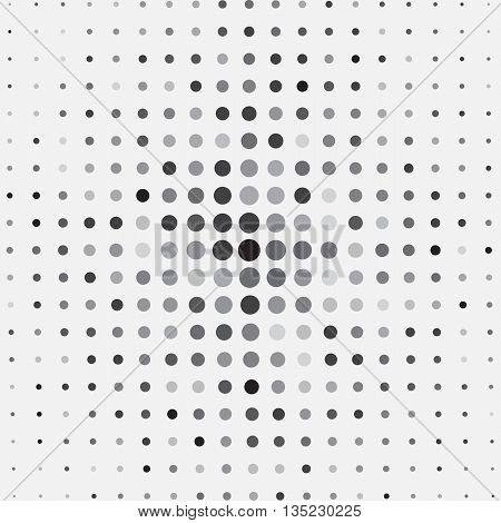 Abstract Halftone Pattern Background