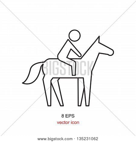 Horse Rider Icon