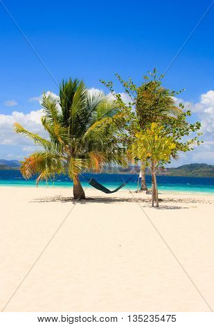 Landscape of tropical island. Coron island. Philippines.