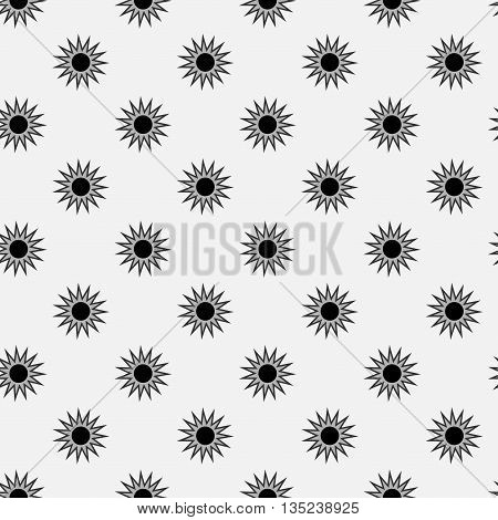 Stars geometric seamless pattern. Fashion graphic background design. Modern stylish abstract texture. Monochrome template 4 prints textiles wrapping wallpaper website etc Stock VECTOR illustration