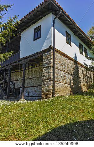 Medieval building in Temski monastery St. George, Pirot Region, Republic of Serbia