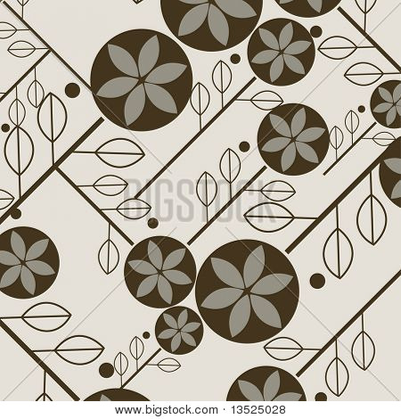 simple shape leaves wallpaper