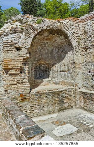inside view The ancient Thermal Baths of Diocletianopolis, town of Hisarya, Plovdiv Region, Bulgaria
