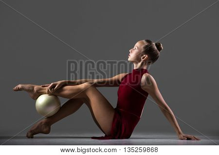 Gymnastics Workout With Ball