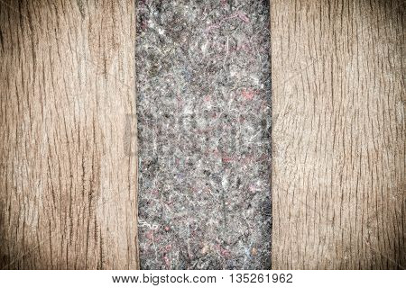 Wood Background Texture and rugs.Abstract background empty template.