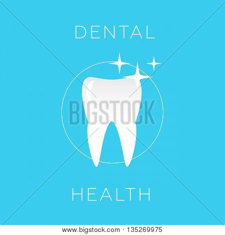 Dental health care and oral hygiene eps 10