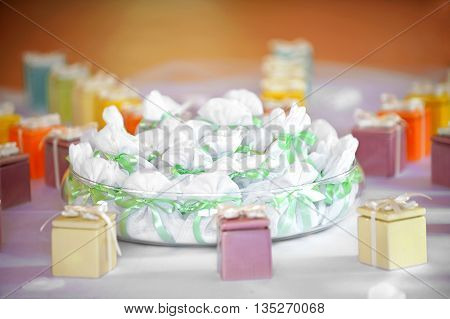 Assorted Party Favors Displayed On A Table