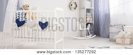 Room For The Baby Boy Is Ready