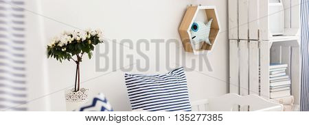 Room Full Of Nautical Accents