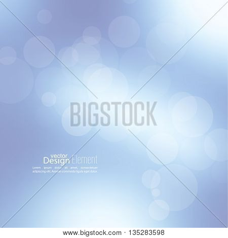 Abstract background with bokeh effect. Vector delicate  backdrop. Gentle image blur. Subtle defocused wallpaper. Soft gradient.