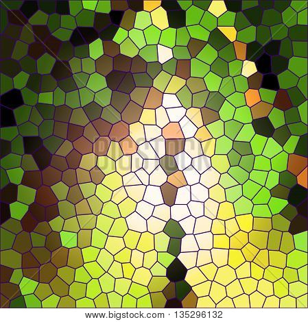 Abstract coloring background of the horizon gradient with visual stained glass effects,good for your design