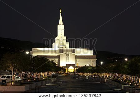 Bountiful Temple -- Church of Jesus Christ of Latter-Day Saints