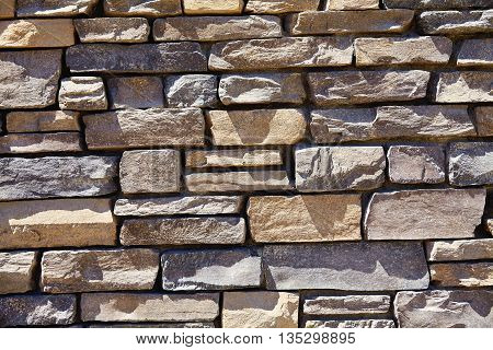 Sandstone Cliff Rock Ledge Decorative Wall