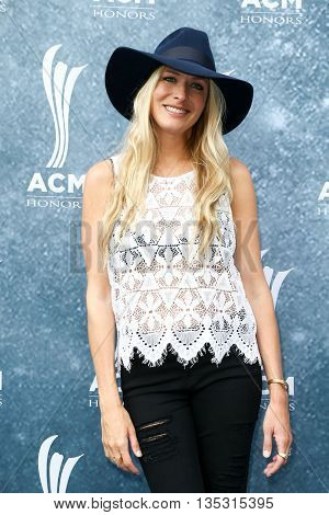 NASHVILLE, TN-SEP 1: Holly Williams attends the 9th Annual ACM Honors at the Ryman Auditorium on September 1, 2015 in Nashville, Tennessee.