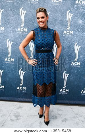 NASHVILLE, TN-SEP 1: Kendra Scott attends the 9th Annual ACM Honors at the Ryman Auditorium on September 1, 2015 in Nashville, Tennessee.