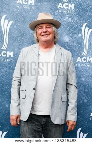NASHVILLE, TN-SEP 1: Dan Dugmore attends the 9th Annual ACM Honors at the Ryman Auditorium on September 1, 2015 in Nashville, Tennessee.