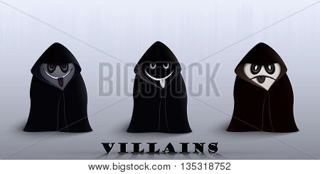The Villains In Capes