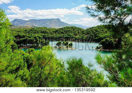 El Chorro Swamp in Malaga, Andalusia, Spain