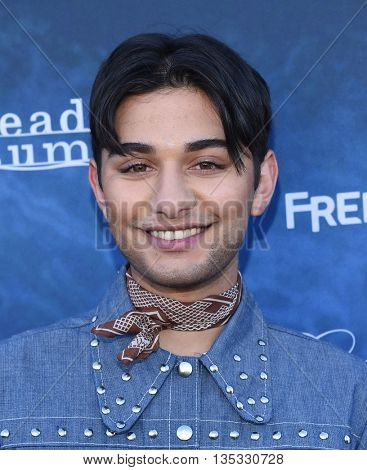 LOS ANGELES - JUN 15:  Mark Indelicato arrives to the arrives to the Pretty Little Liars Season 7 Event  on June 15, 2016 in Hollywood, CA.