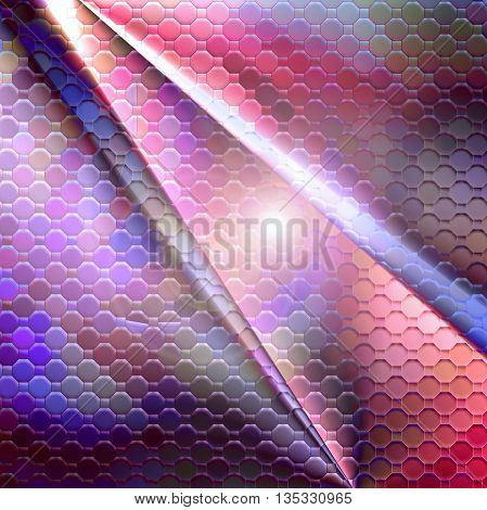 Abstract coloring background of the horizon gradient with visual wave and mosaic effects,good for your design